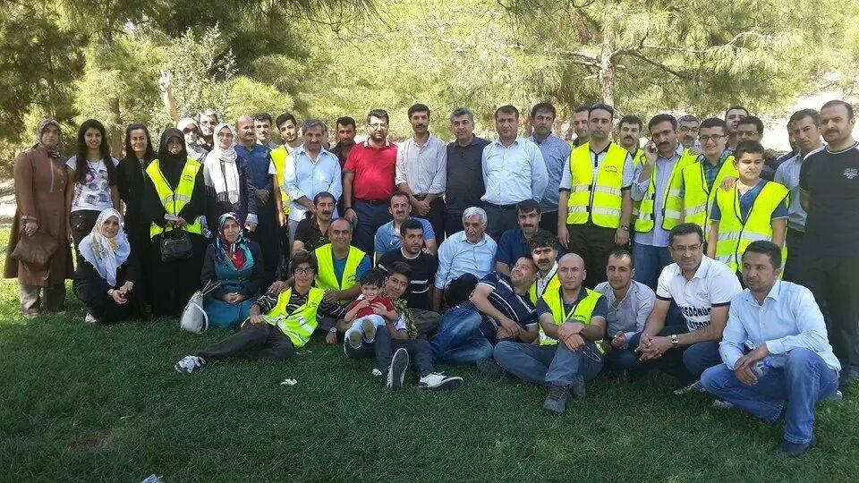 Öze Dönüş Platformu'nun Kobanili Muhacirlere Yardım Çalışması 73