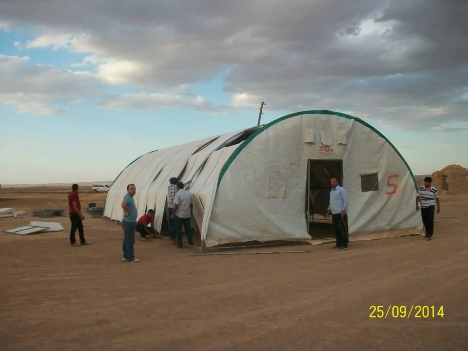Öze Dönüş Platformu'nun Kobanili Muhacirlere Yardım Çalışması 74