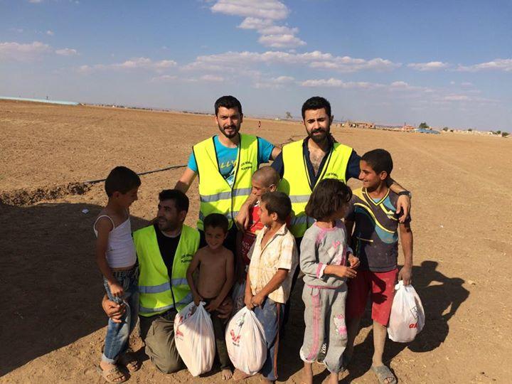 Öze Dönüş Platformu'nun Kobanili Muhacirlere Yardım Çalışması 79