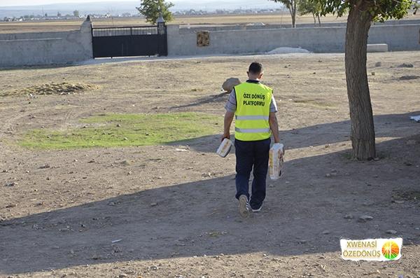 Öze Dönüş Platformu'nun Kobanili Muhacirlere Yardım Çalışması 86
