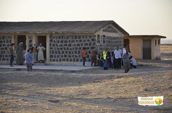 Öze Dönüş Platformu'nun Kobanili Muhacirlere Yardım Çalışması 87
