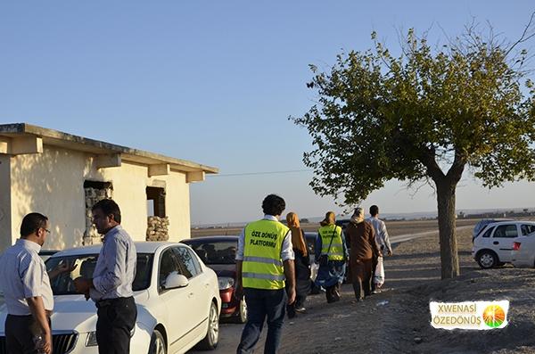 Öze Dönüş Platformu'nun Kobanili Muhacirlere Yardım Çalışması 89