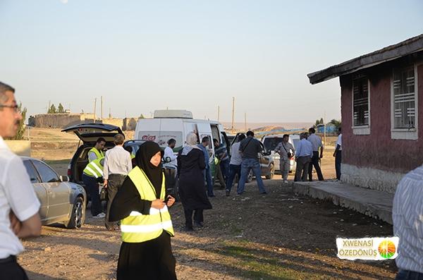 Öze Dönüş Platformu'nun Kobanili Muhacirlere Yardım Çalışması 90