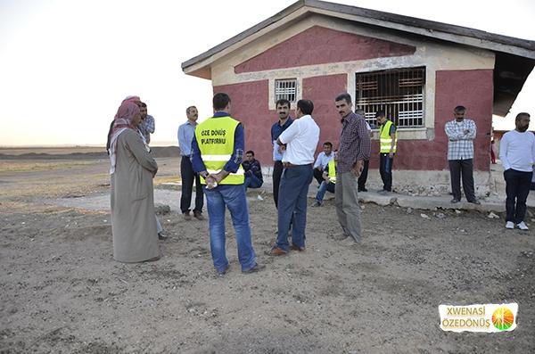 Öze Dönüş Platformu'nun Kobanili Muhacirlere Yardım Çalışması 93