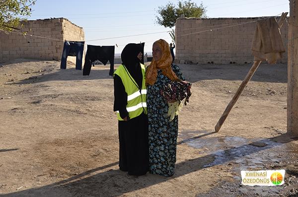 Öze Dönüş Platformu'nun Kobanili Muhacirlere Yardım Çalışması 94