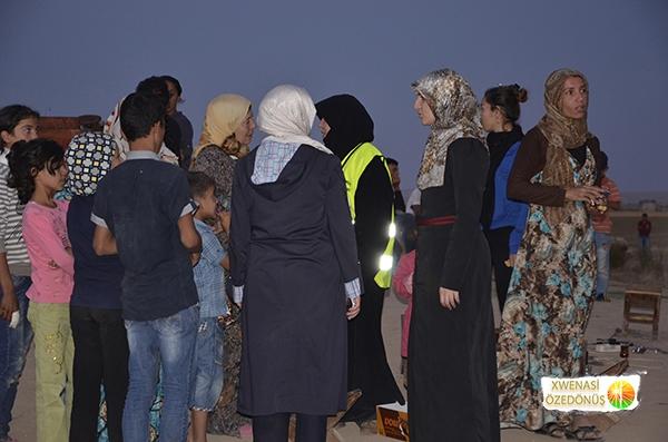 Öze Dönüş Platformu'nun Kobanili Muhacirlere Yardım Çalışması 96