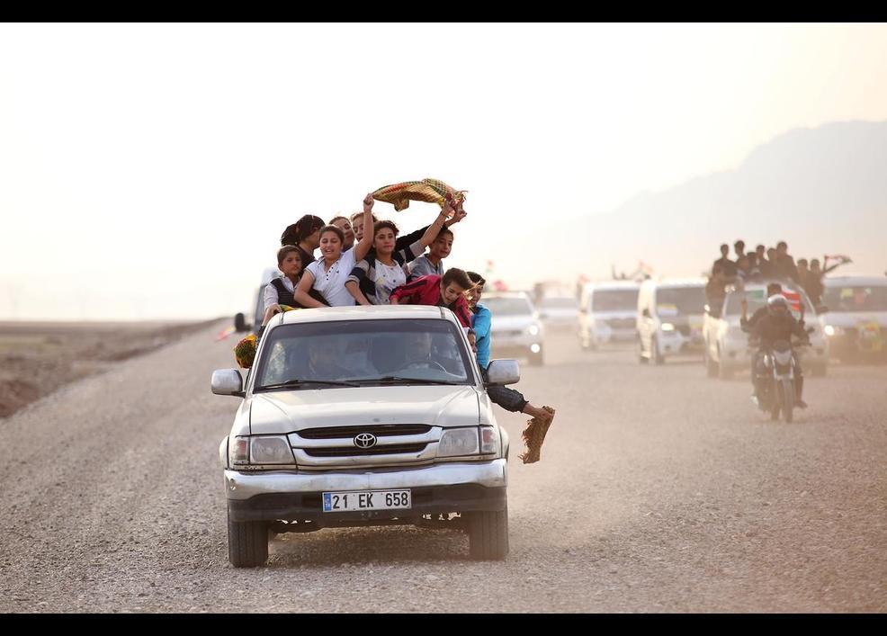 Foto Galeri: Peşmerge Kobanê yolunda 9