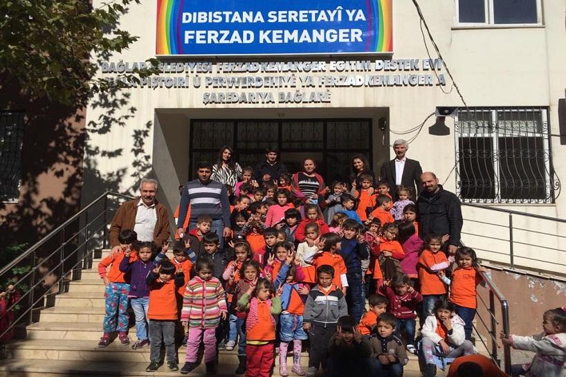 Diyarbakır'da Ferzad Kemanger Kürtçe İlköğretim Okulu... 1
