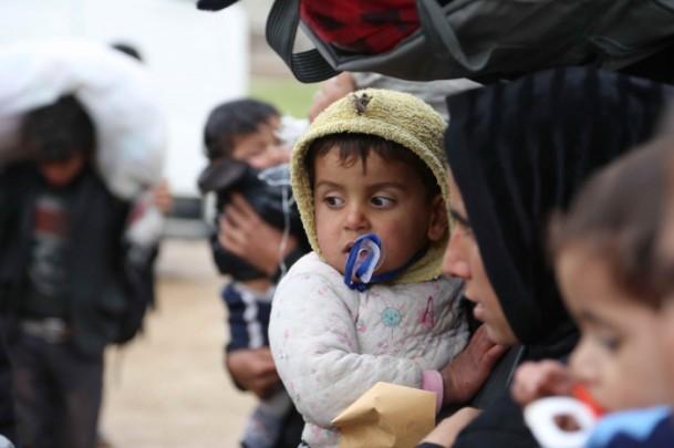 Iraklı Mültecilerin Soğukla Mücadelesi 1