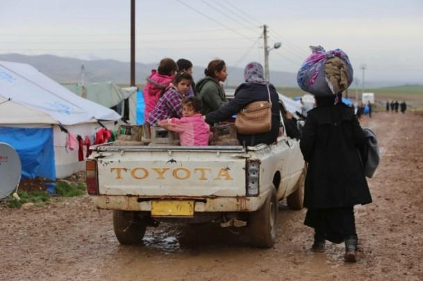 Iraklı Mültecilerin Soğukla Mücadelesi 2