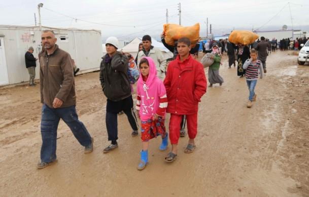 Iraklı Mültecilerin Soğukla Mücadelesi 3