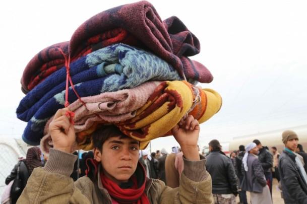 Iraklı Mültecilerin Soğukla Mücadelesi 4