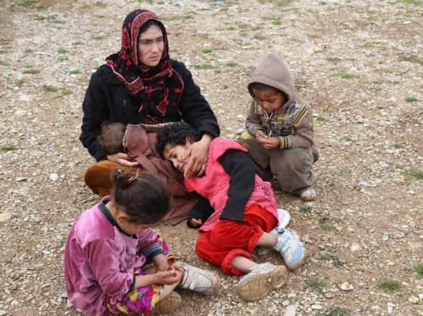 Iraklı Mültecilerin Soğukla Mücadelesi 9