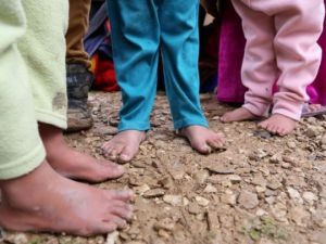 Iraklı Mültecilerin Soğukla Mücadelesi