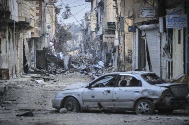 """Kobani'de silah sesi yerine """"izi"""" kaldı 10"""