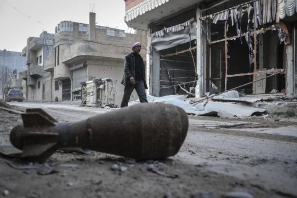 """Kobani'de silah sesi yerine """"izi"""" kaldı 18"""