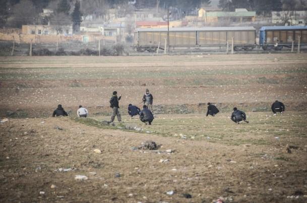 """Kobani'de silah sesi yerine """"izi"""" kaldı 2"""