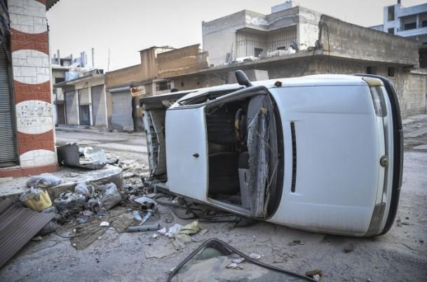 """Kobani'de silah sesi yerine """"izi"""" kaldı 24"""