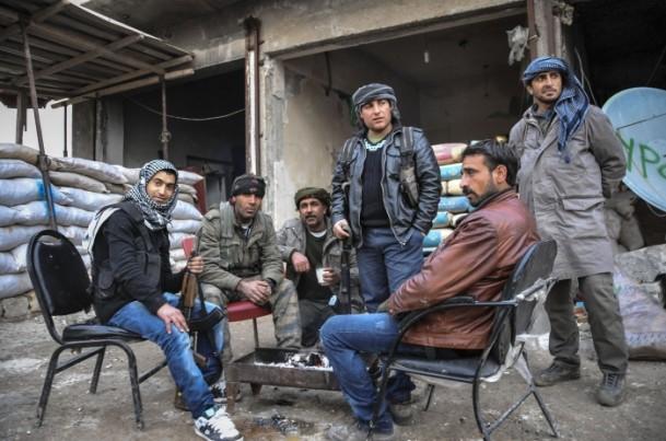 """Kobani'de silah sesi yerine """"izi"""" kaldı 29"""