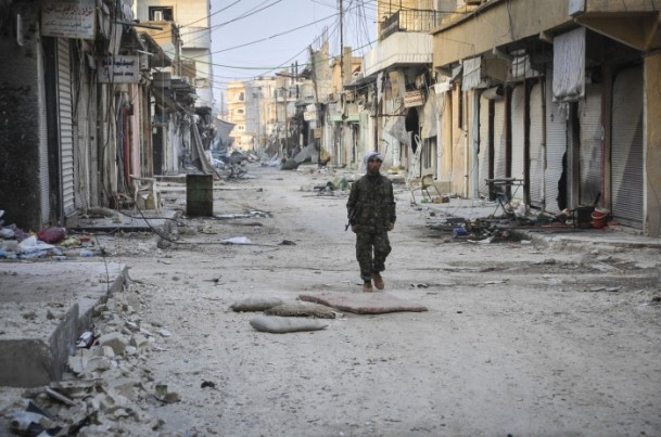 """Kobani'de silah sesi yerine """"izi"""" kaldı 32"""