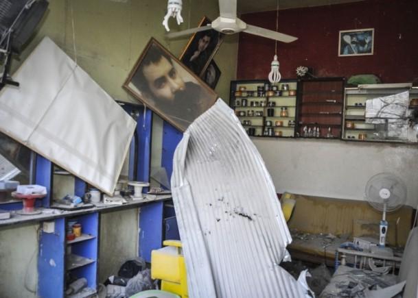 """Kobani'de silah sesi yerine """"izi"""" kaldı 6"""