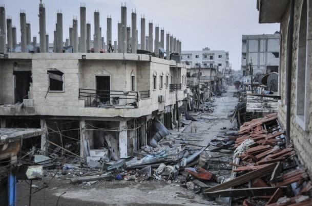 """Kobani'de silah sesi yerine """"izi"""" kaldı 8"""
