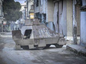 """Kobani'de silah sesi yerine """"izi"""" kaldı"""
