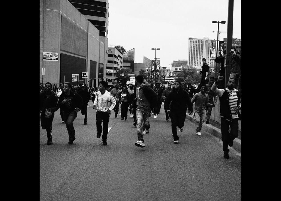 Bir siyah gencin gözünden Baltimore isyanı 1