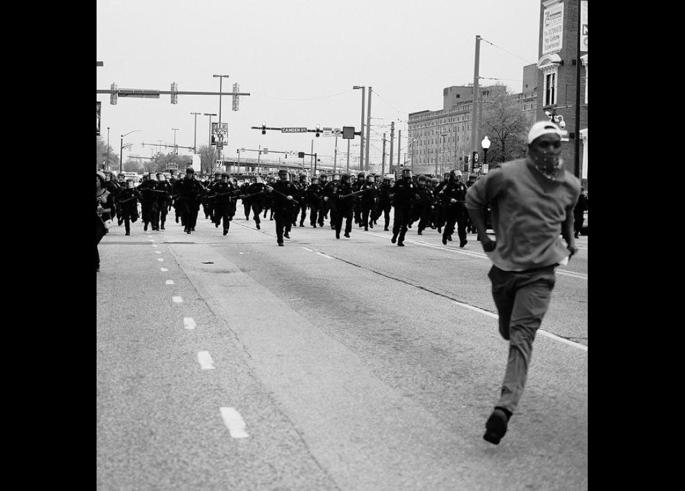 Bir siyah gencin gözünden Baltimore isyanı 12