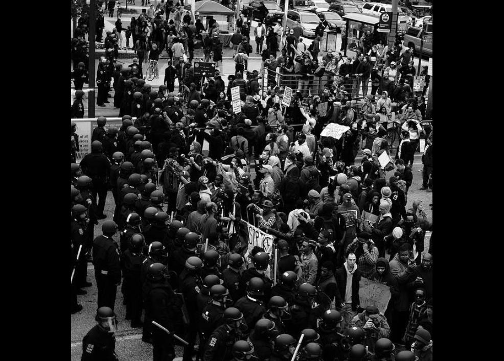 Bir siyah gencin gözünden Baltimore isyanı 15