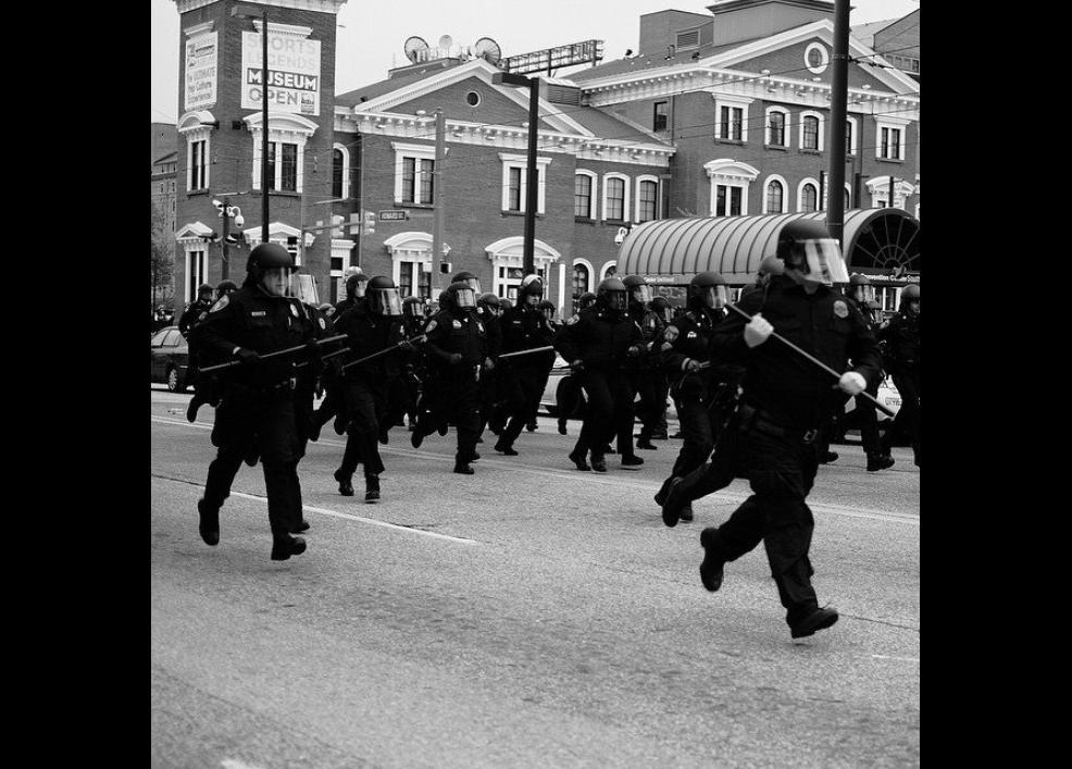 Bir siyah gencin gözünden Baltimore isyanı 18