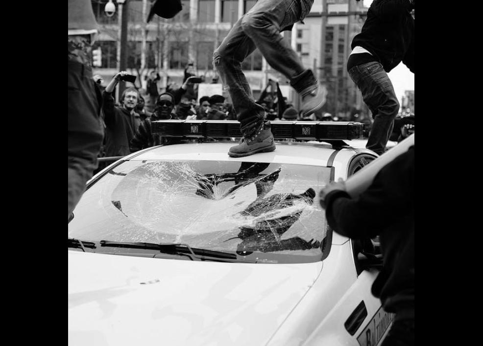 Bir siyah gencin gözünden Baltimore isyanı 19