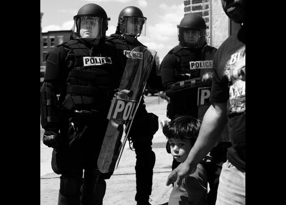 Bir siyah gencin gözünden Baltimore isyanı 5