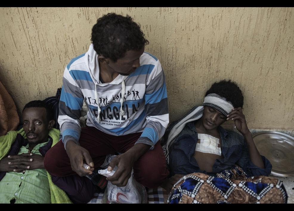 Göçmenler her gün ölümle burun buruna yaşıyor 12