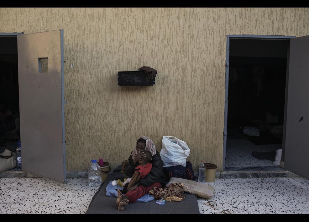 Göçmenler her gün ölümle burun buruna yaşıyor 2
