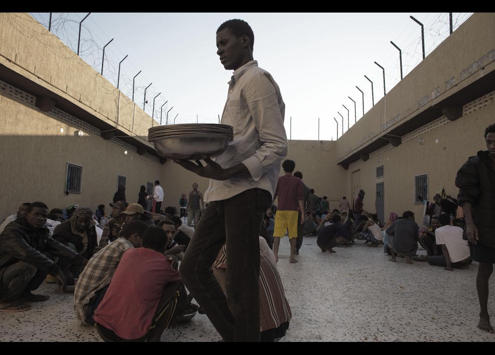 Göçmenler her gün ölümle burun buruna yaşıyor 6