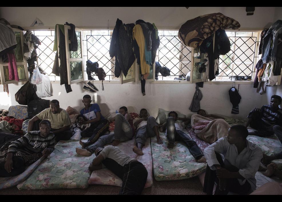 Göçmenler her gün ölümle burun buruna yaşıyor 8