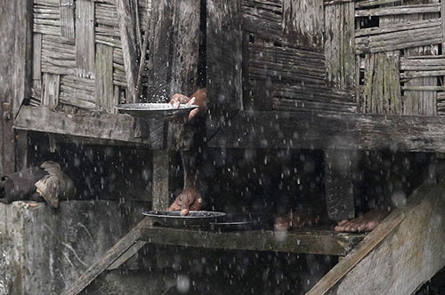 Arakanlı Müslümanlar yağmur suyuna muhtaç 4