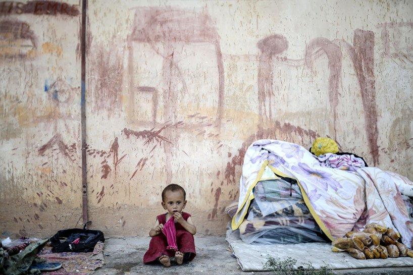 Türkiye sınırındaki Rojavalı mülteciler 10