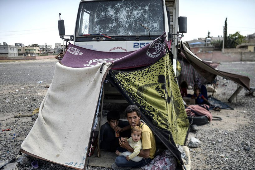 Türkiye sınırındaki Rojavalı mülteciler 12