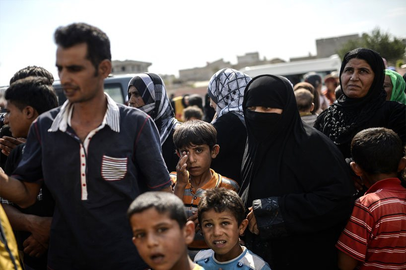 Türkiye sınırındaki Rojavalı mülteciler 15