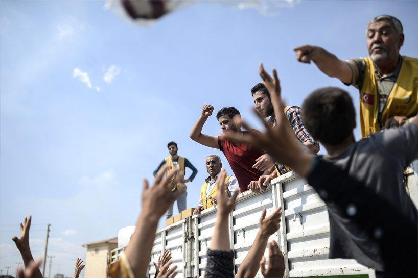 Türkiye sınırındaki Rojavalı mülteciler 2