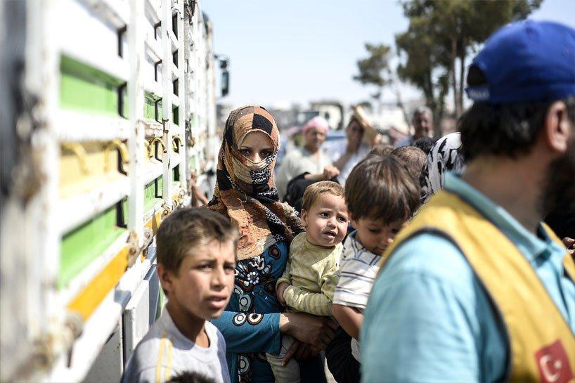 Türkiye sınırındaki Rojavalı mülteciler 3