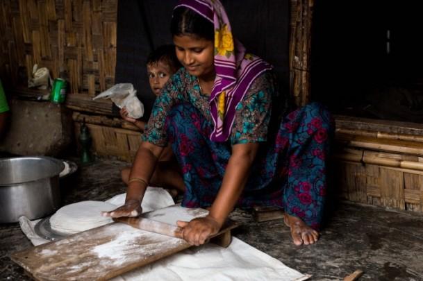 Rohingya Müslümanlarının yaşam mücadelesi 1