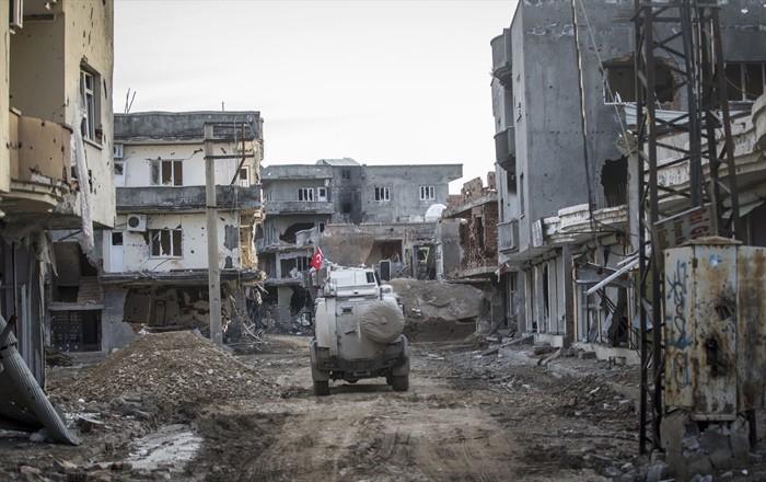 Çatışmaların Ardından Yıkık Bir Kent: Cizre 1