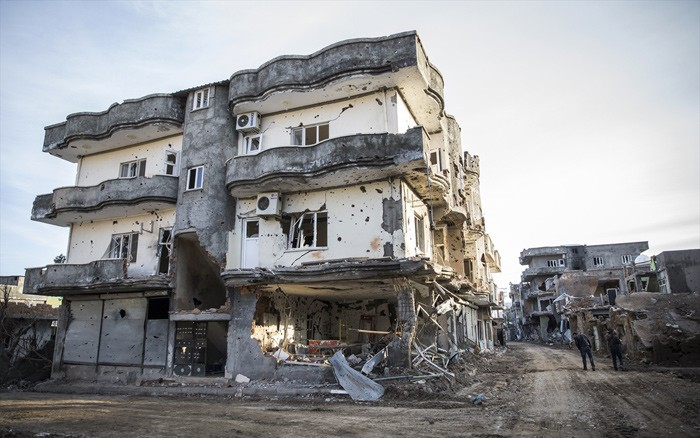 Çatışmaların Ardından Yıkık Bir Kent: Cizre 2