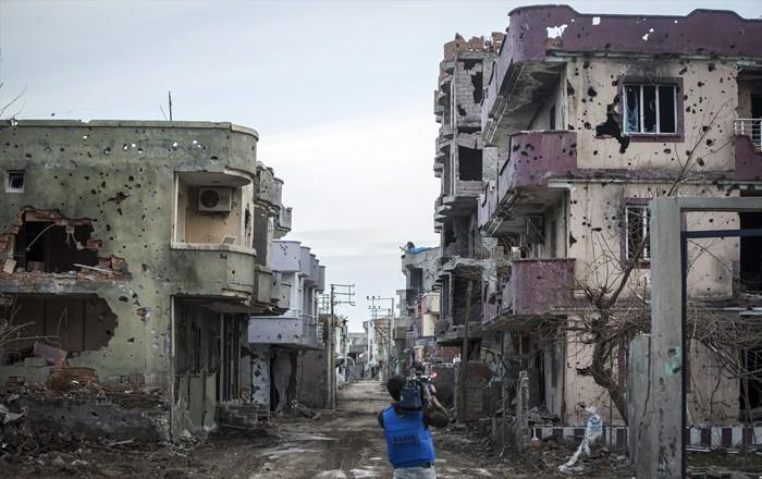 Çatışmaların Ardından Yıkık Bir Kent: Cizre 6