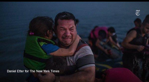 Dramı çeken mülteciler, ödülü alan fotoğrafçılar! 14