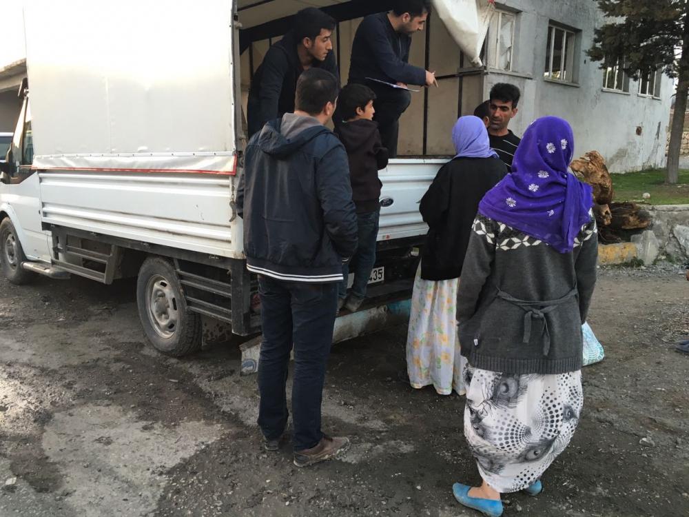 Öze Dönüş hareketi bileşenlerinden Şırnak'taki kardeşlerimize yardım 11
