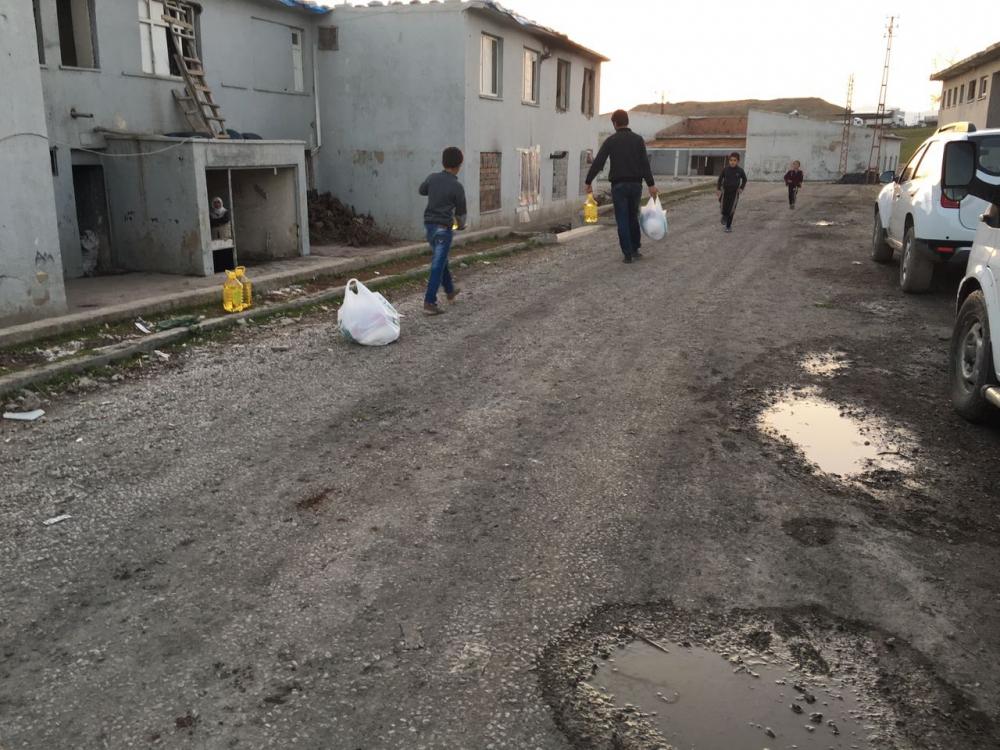 Öze Dönüş hareketi bileşenlerinden Şırnak'taki kardeşlerimize yardım 12